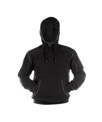 Indy Sweatshirt hoodie versterkt met canvas